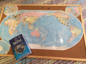 My World Map & Lonely Plant 'The World'  Travel Guide